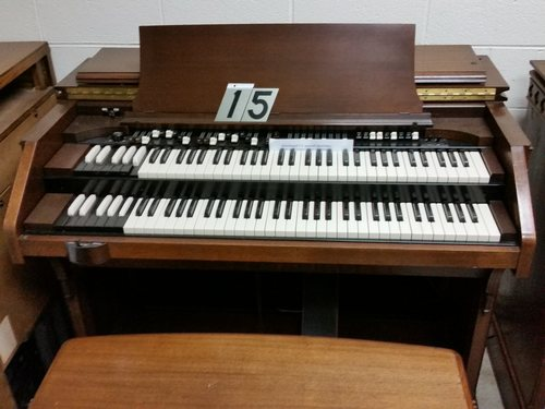 Hammond CV #15, smooth drawbars and round edge keys added $5500.00 or best offer
