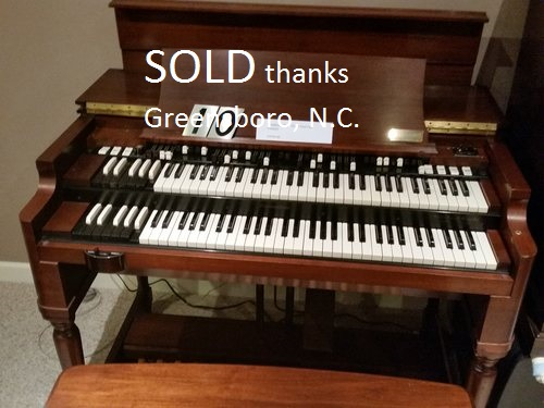 Hammond B3, super clean from home, choice of Leslies ( Gold Seal)