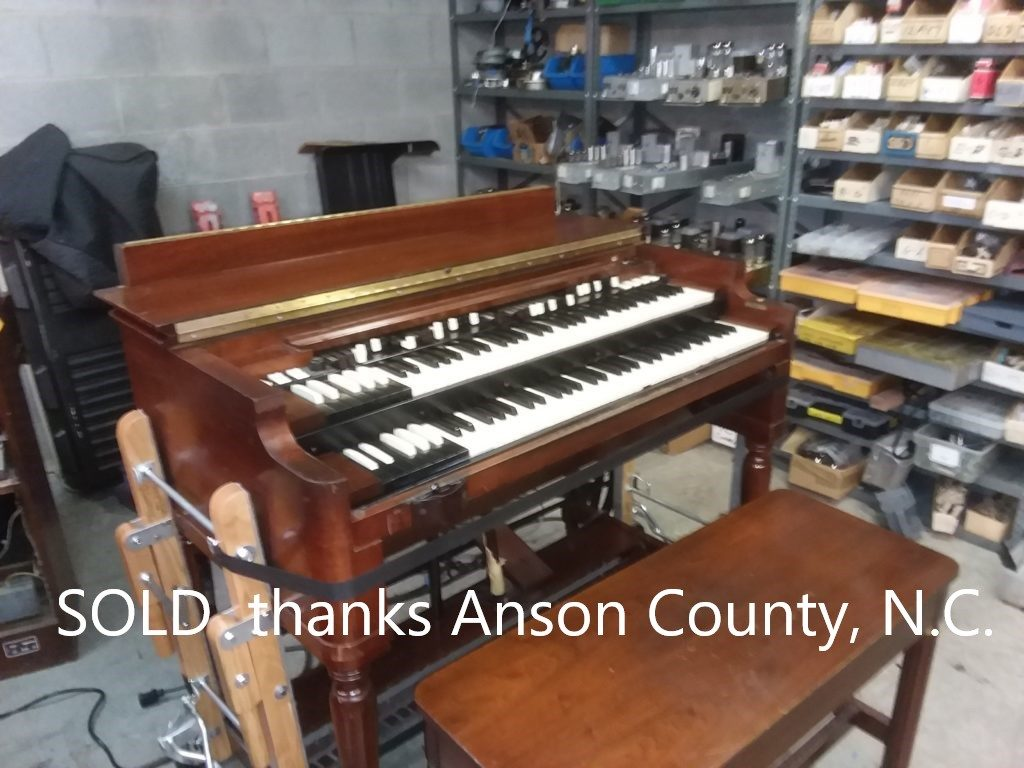Hammond B3 w/ Leslie SOLD you just missed it. Thank you Anson County, N.C.